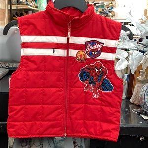 Size 6 Spider-Man vest